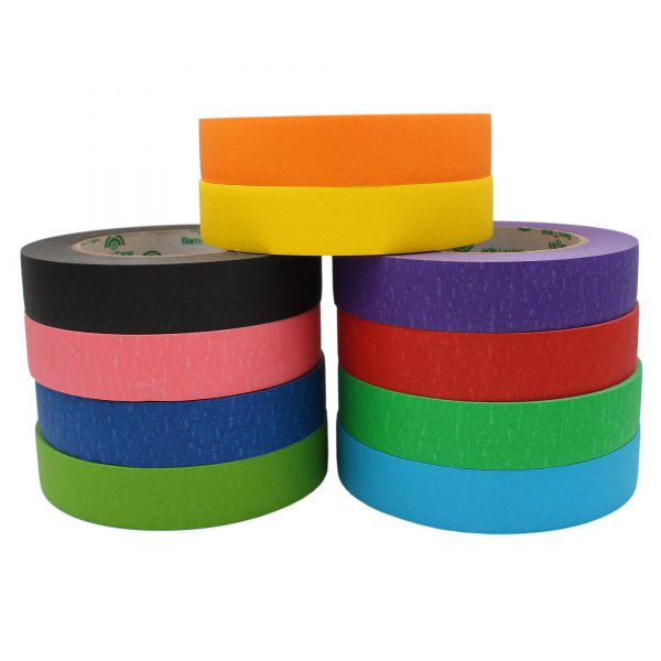 colorful masking tape